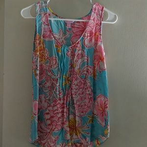 SILK Lilly Pulitzer swing top